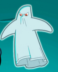 S02e17 bed sheet ghost