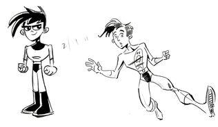 Danny phantom early sketch 2