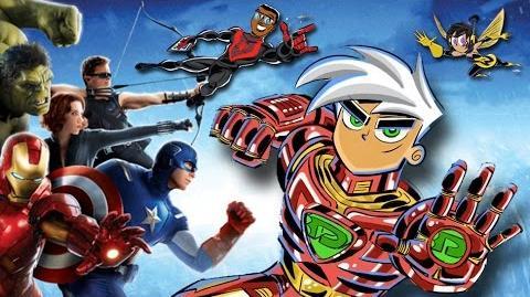 The Avengers + Danny Phantom in MARVEL MASHUP