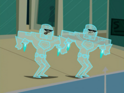 S02e18 GiW intangibility suits activated
