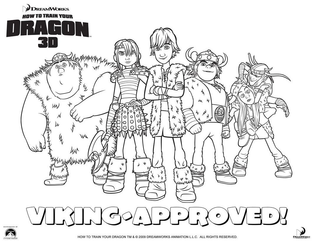 how to train your dragon 2 coloring pictures