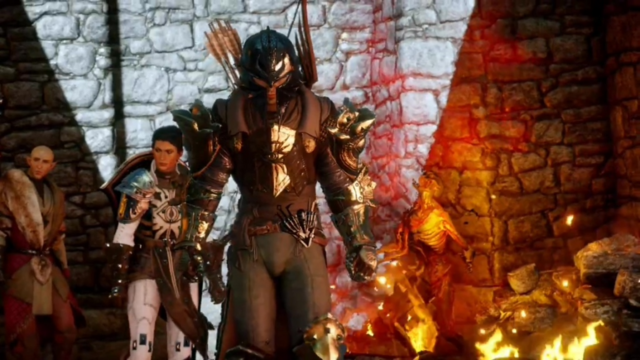 File:Inquisitor, Solas, Cassandra Hero of Thedas.png