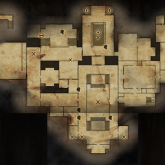 Winter Palace Main Level Map