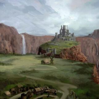 Redcliffe castle concept art