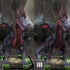 Tier progression of a High Dragon in <i><a href=