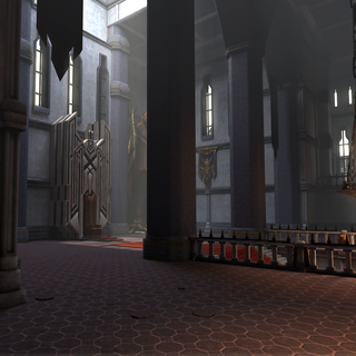 Viscount's Keep Throne Room