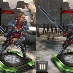Tier progression Knight-Captain Cullen in <i><a href=