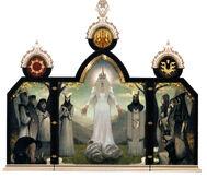 Andraste triptych