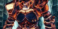 Codex entry: Inferno Golem