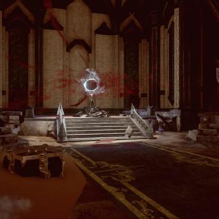 Tempest Magic Staff in the Inner Sanctum.