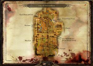Amaranthine Map DA RPG by InquisitorMinmi