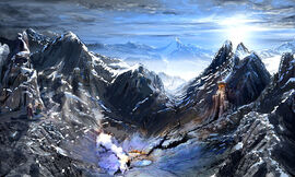 Frostback mountains