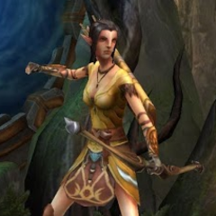 A Dalish hunter in <i><a href=