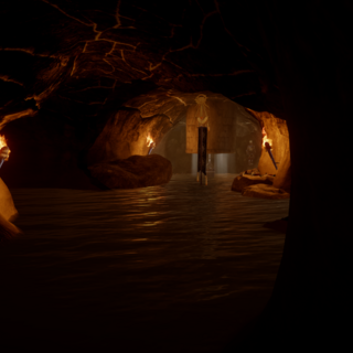 Cave under the Griffon Wing Keep.