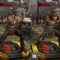 Tier progression of a Cultist Assassin in <i>Heroes of Dragon Age</i>