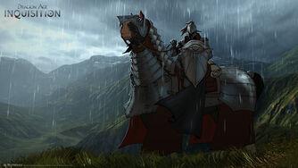 Inquisition war horse concept