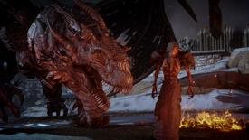 Corypheus and dragon