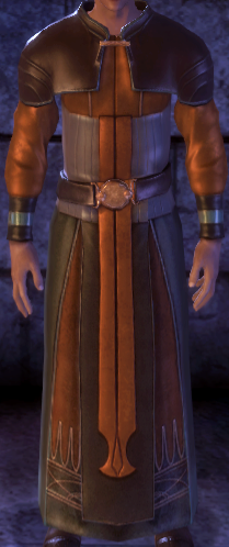 Finn's Immaculately Clean Robe