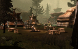 Location-Dalish Camp Campfire