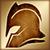 Heavy helmet gold DA2