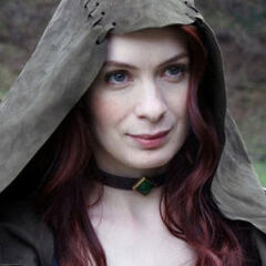 Felicia Day as Tallis in <i>Dragon Age: Redemption</i>