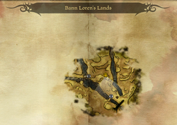 Bann Loren's Lands Map