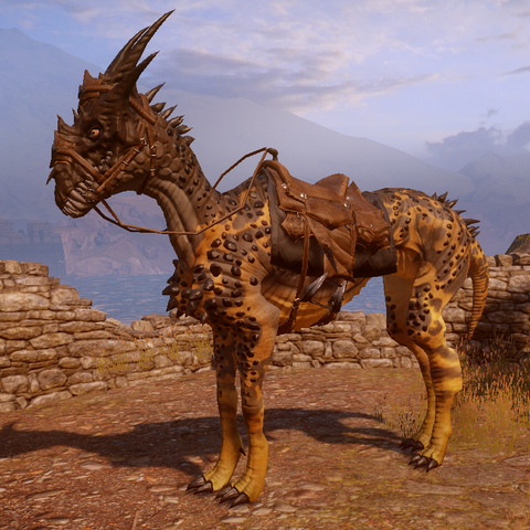 Desert Lightning mount