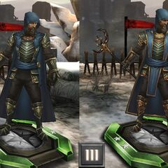Tier progression of Aurelian Titus in <i>Heroes of Dragon Age</i>