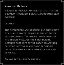 A Tevinter Relic Hunt Text 1