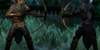 Peerless Archer's Tunic (Obsidian)