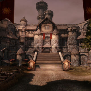 Redcliff Castle in <a href=