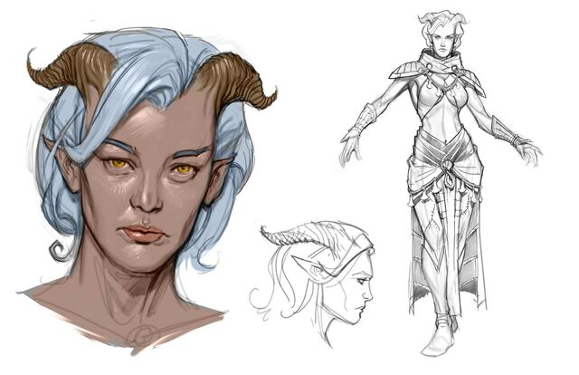 File:Qunari tamassran concept art (Those Who Speak).jpg