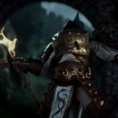 A Venatori Brute in DAI Gameplay Trailer