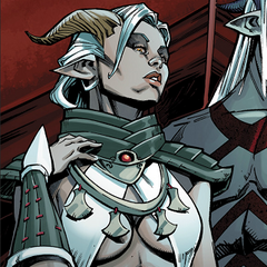 Female Qunari - the tamassran <a href=