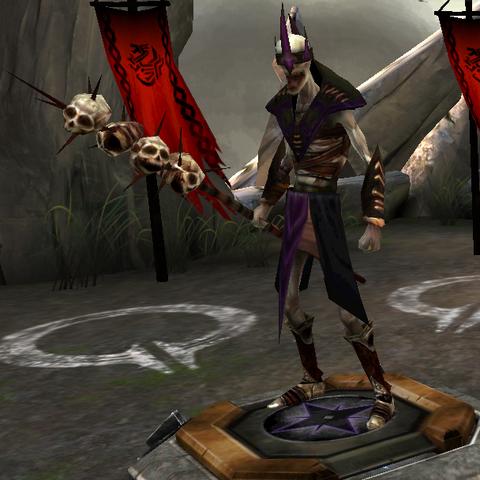A skeleton mage (Tier IV) in <i><a href=