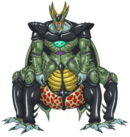 Cell X In Super Dragon Ball Heroes Dragon Ball Know Your Meme
