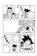 Bulma wakes up Goku