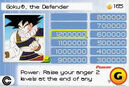 Goku Collectible Card Game GBA