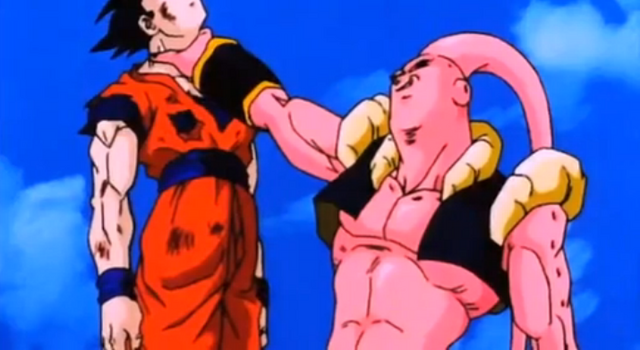 File:The Old Kai's Weapon - Super Buu chokes Gohan.PNG