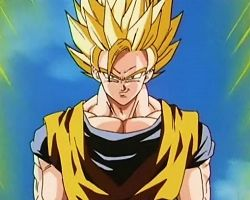 File:Goku as a Super Saiyan 2 before ascending to Super Saiyan 3 during the battle against Majin Buu..jpg