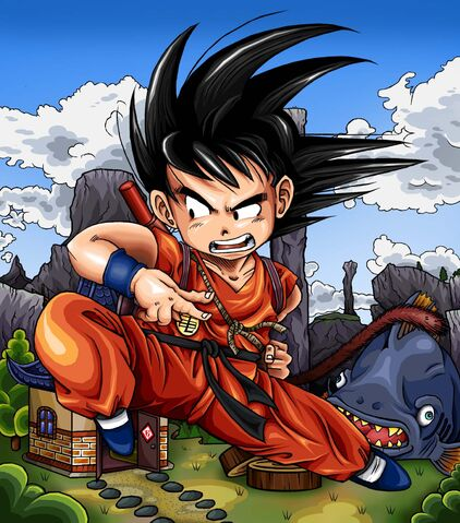 File:Dragonball Z Kid Goku by TimothyJamesF.jpg