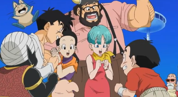 File:Krillin & The Others Happy.png
