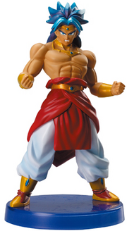 Broly realworks part5 July2008 12cm 5inch Bandai