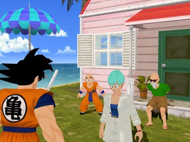 File:Goku Kame House Budokai.jpg