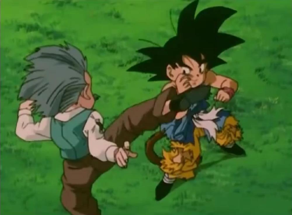 Image Goku Vs Krillin Gt Png Dragon Ball Wiki Fandom