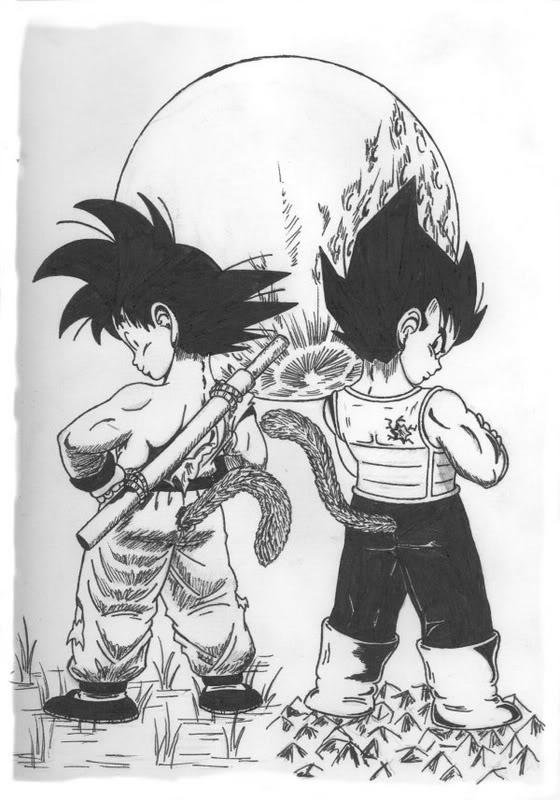 Kid Goku And Kid Vegeta FileDragon ball other world