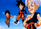 Goten, Trunks and Krillin