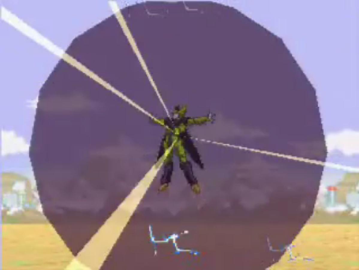 Niño sobrevive un ataque usando una técnica de Dragon Ball Z