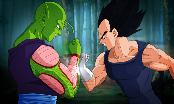 File:Piccolo and Vegeta THE CLASH by NamekianKAI.png
