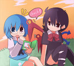 File:Kogasa and Nue.jpg